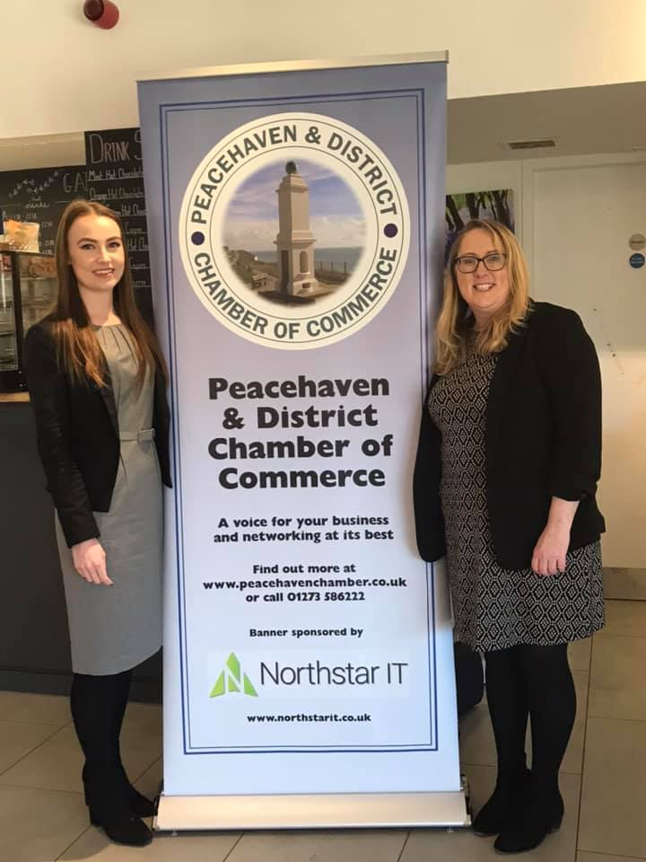 Sarah Rebello and Kayleigh Dowty from Barwells Solicitors