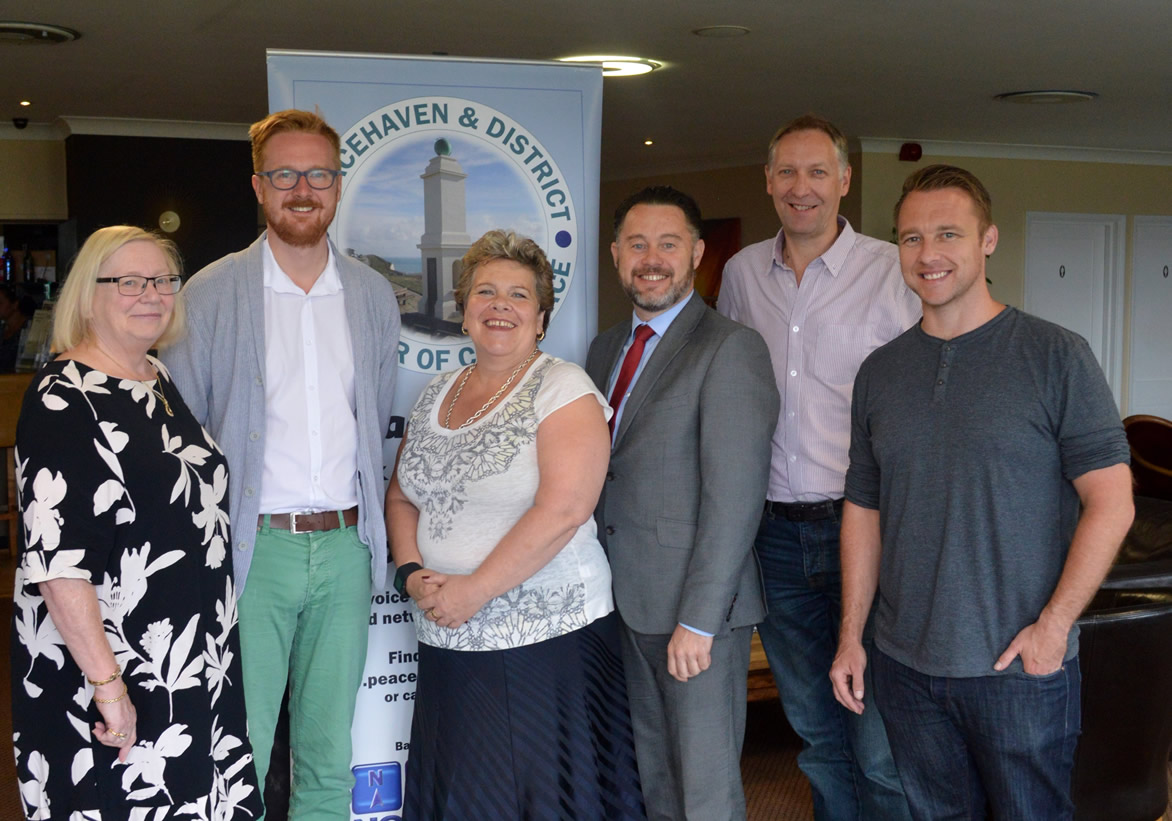 MP Lloyd Russell-Moyle at Peacehaven Chamber of Commerce breakfast meeting