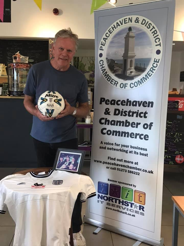 Phil merry representing Peacehaven & Telscombe Football Club