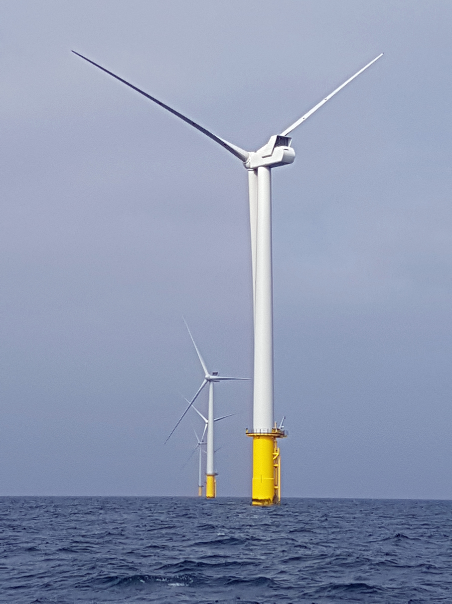 Peacehaven chamber visits Rampion wind farm